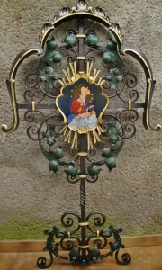 barocke Grabkreuze