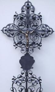 Grabkreuz B6K mit Korpus und Tafel
