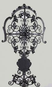 Grabkreuz H5D mit Tafel