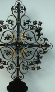 Grabkreuz mit Tafel Goldegg