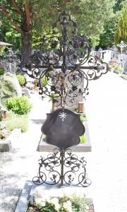 Grabkreuz B6k mit großer Tafel