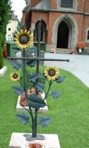Sonnenblumenkreuz Hallein